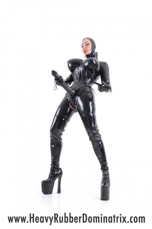 Rubber Strapon Mistress