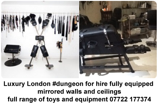 Luxury London #dungeon for hire