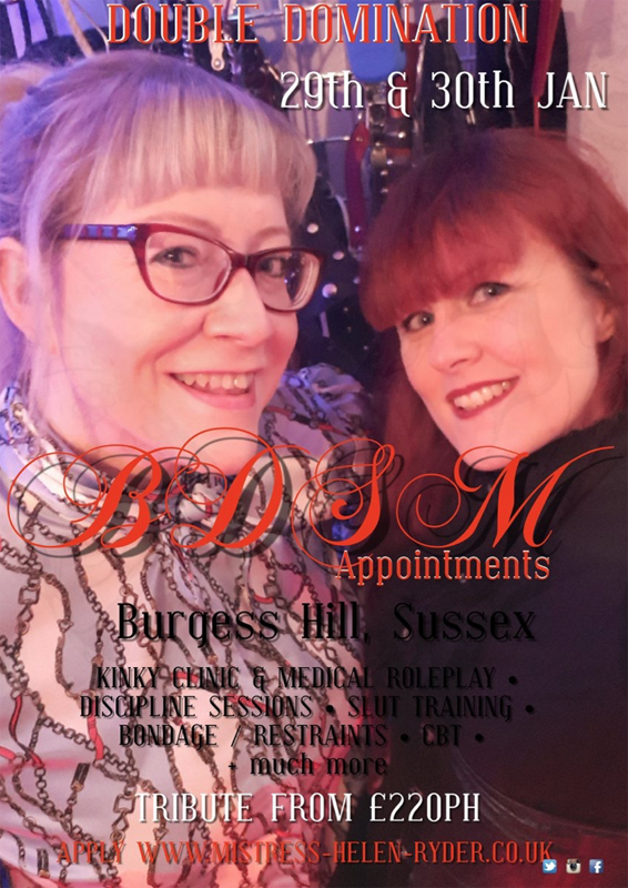 Double Domination Burgess Hill Sussex
