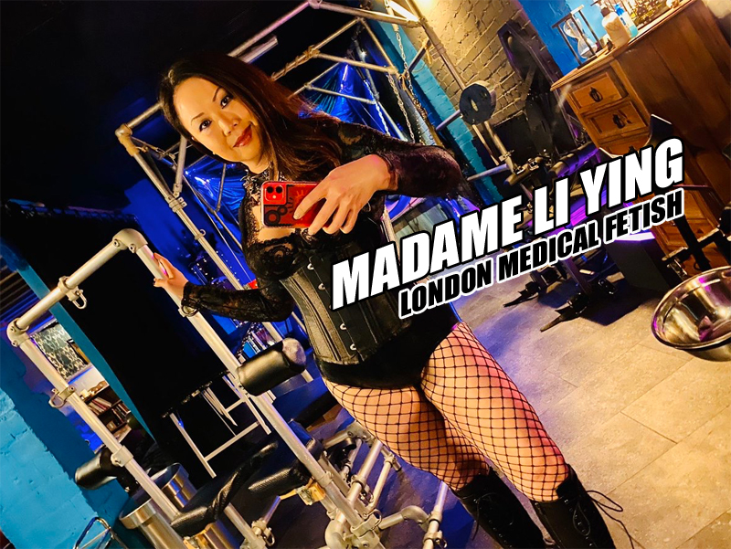 London-Medical Mistress Madame Li Ying