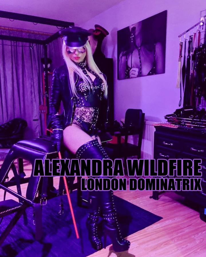 London Mistress Alexandra Wildfire